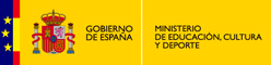 Logotipo del Ministerio de Educaci&oacute;n, Cultura y Deporte