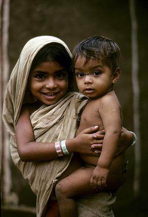 Imagen de dos niños