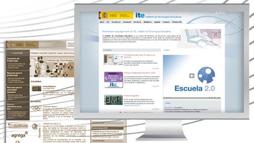 Nueva web del ITE
