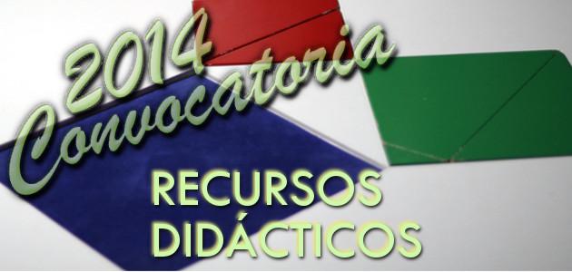 premios recursos didacticos 2014
